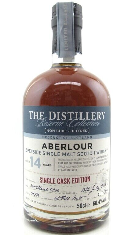 Aberlour 14 years old Single Cask no 26974 boxed