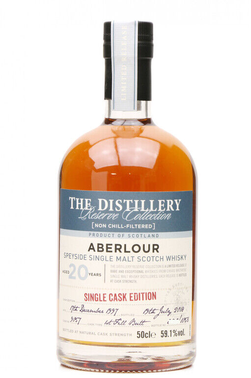 Aberlour 20 years old Single Cask no 9057 boxed