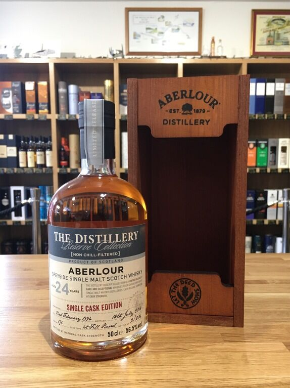 Aberlour 24 years old Single Cask no 176
