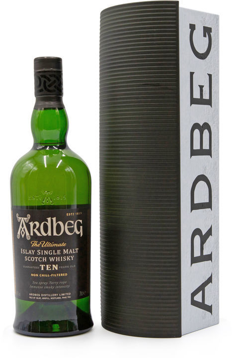 Ardbeg 10 years old (Warehouse Pack)