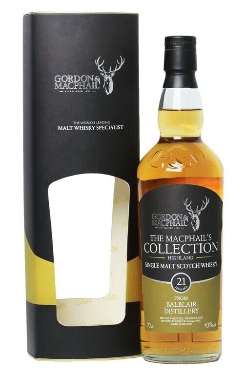 Balblair 21 Year Old MacPhail's Collection
