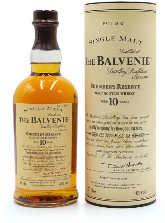 Balvenie 10 years old, Founder's Reserve