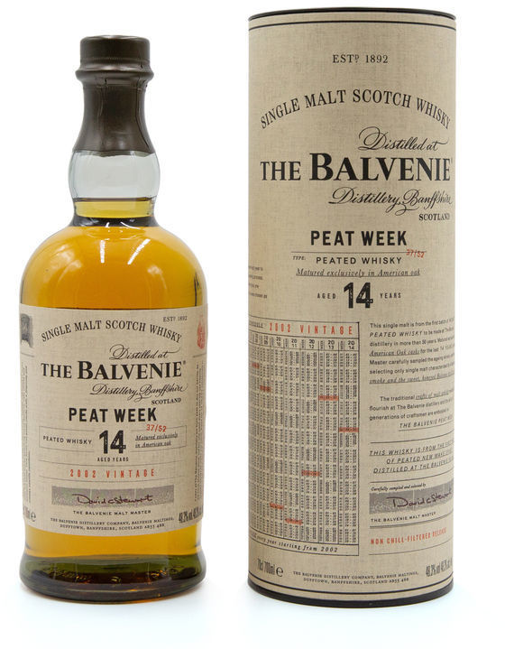 Balvenie 14 years old Peat Week 2002