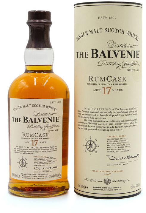 Balvenie 17 years old Rum Cask