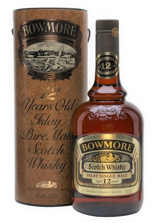 Bowmore 12 years old, 1 Litre 1980's