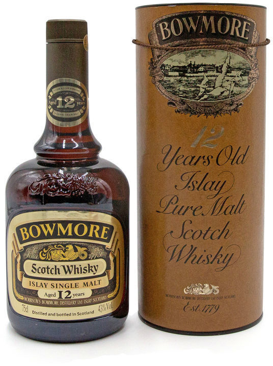 Bowmore 12 years old, 1980s
