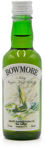 Bowmore Sherriff's 70° Proof miniature