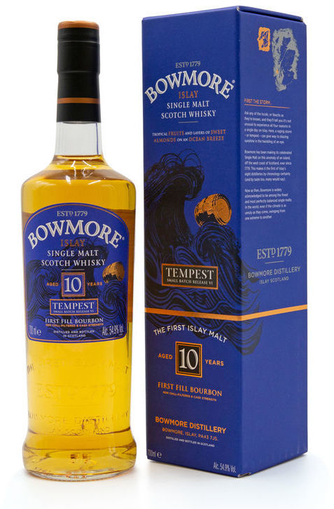 Bowmore Tempest 10 years old, Batch 6