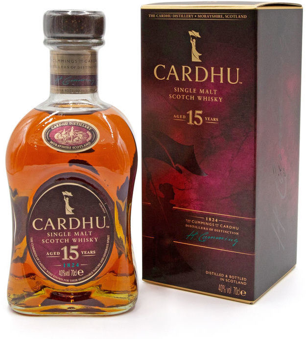 Cardhu 15 years old