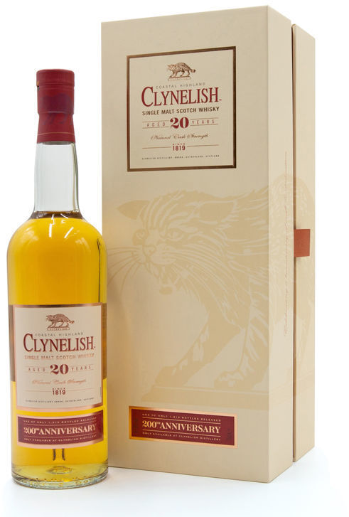 Clynelish 20 years old (200th Anniversary)