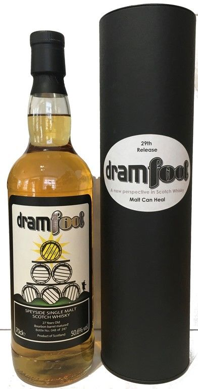 Dramfool Malt Can Heal 27 years old
