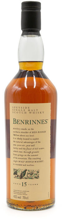 Benrinnes 15 years old, Flora & Fauna