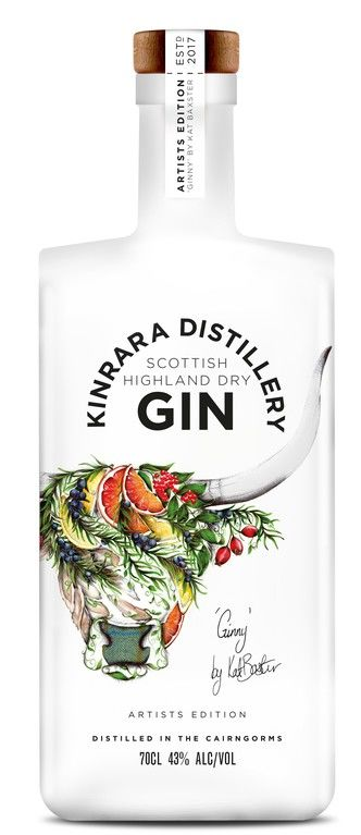 Kinrara Distillery Artists Edition Gin First Release Kat Baxter #001
