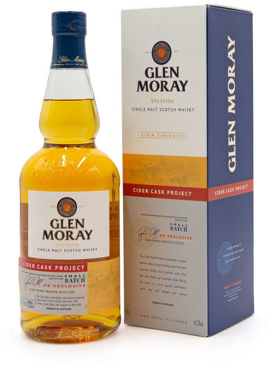 Glen Moray Cider Cask Project