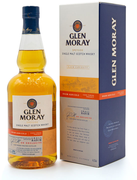 Glen Moray Rhum Agricole Project