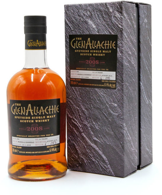 GlenAllachie 10 years old, 2008 (2019)
