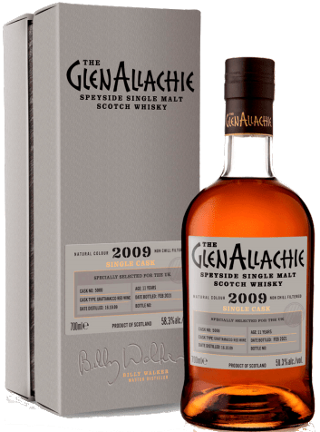 GlenAllachie 11 Years Old, 2009 – Cask 5000