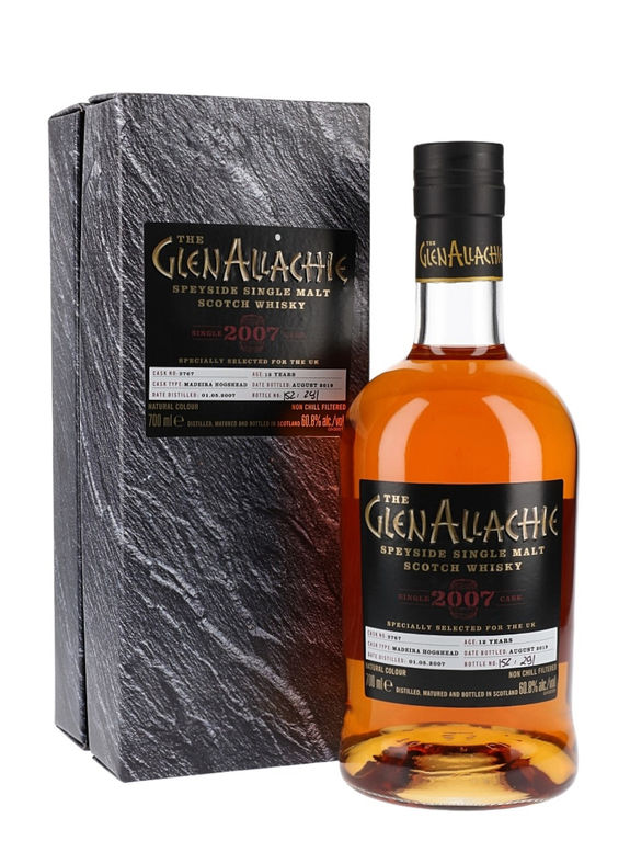 GlenAllachie 12 years old, 2007 (2019)