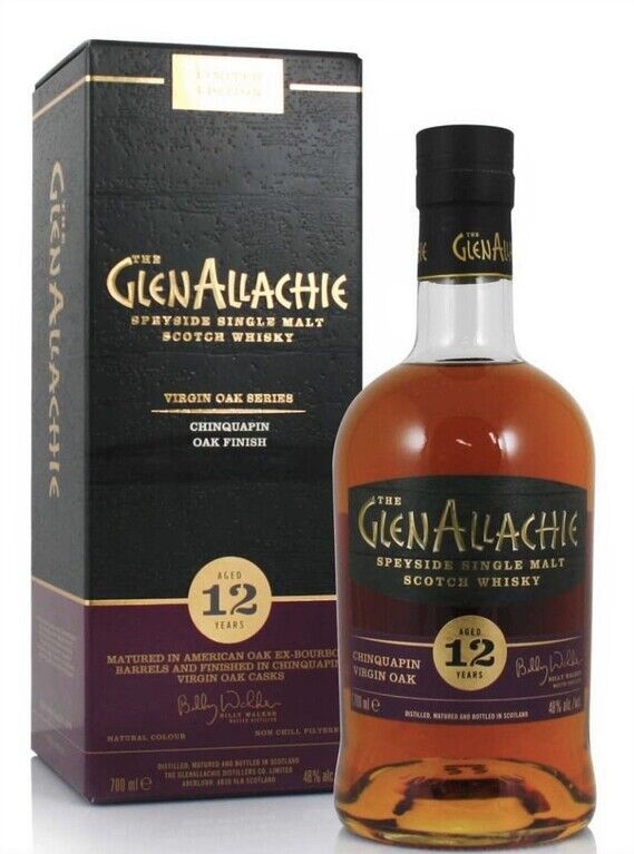 GlenAllachie 12 years old Chinquapin Virgin Oak