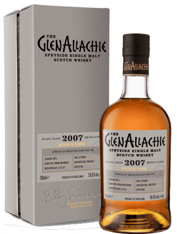GlenAllachie 13 Years Old, 2007- Cask 6871