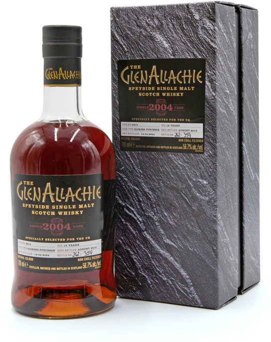 GlenAllachie 15 years old, 2004 (2019)