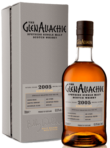 GlenAllachie 15 Years Old, 2005 - Cask 901042