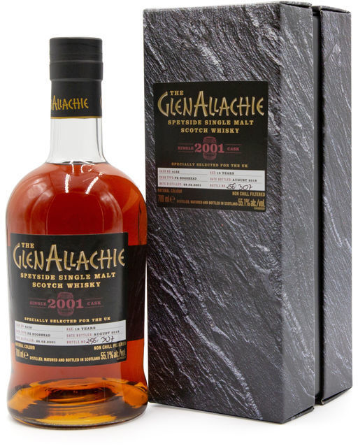 GlenAllachie 18 years old, 2001 (2019)