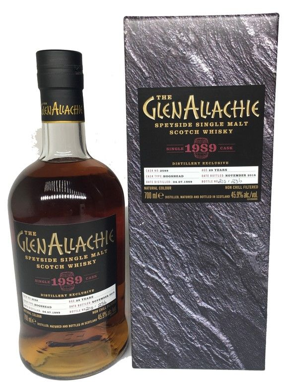 GlenAllachie 29 years old, 1989 (2018) Distillery Exclusive