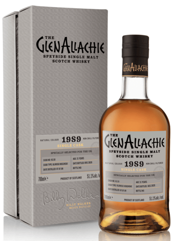 GlenAllachie 31 years old,1989 (2020)