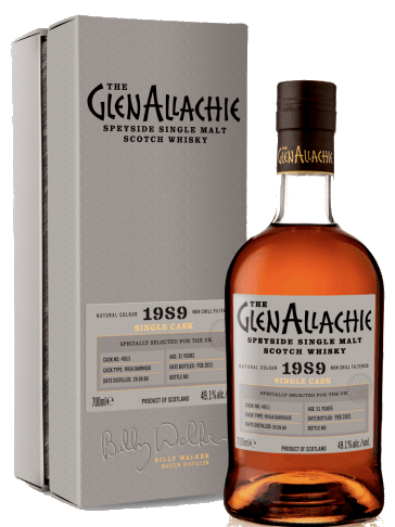GlenAllachie 31 Years Old, 1989 - Cask 4011