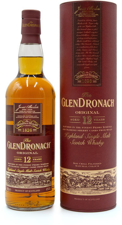 Glendronach 12 years old, Original