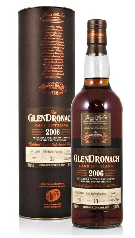 Glendronach 2006, 13 years old (Cask 5538)