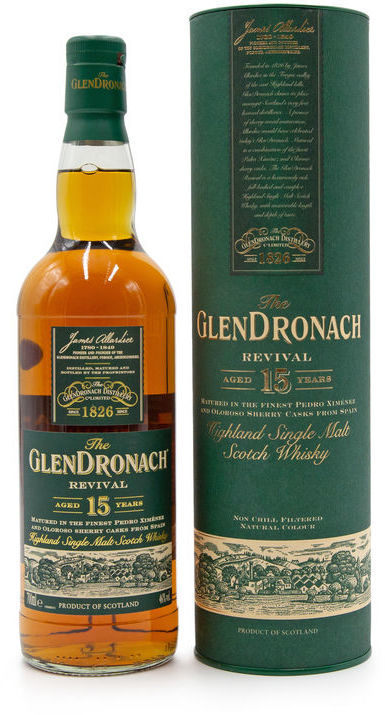 Glendronach 15 years old, Revival NEW