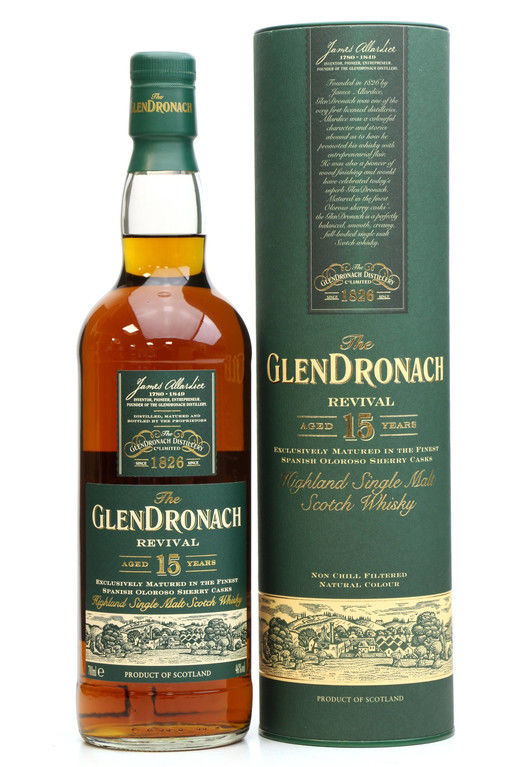 Glendronach 15 years old, Revival OLD