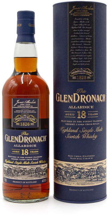 Glendronach 18 years old, Allardice