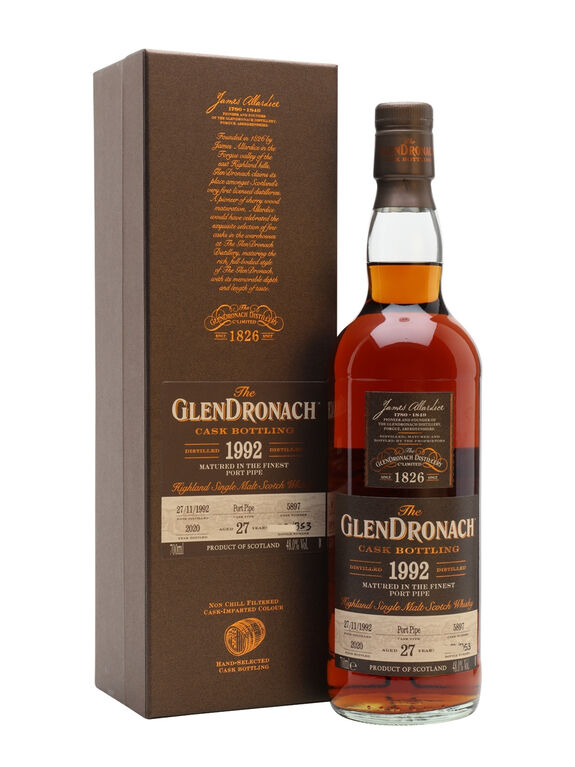 GlenDronach 1992, 27 years old (Cask 5897)