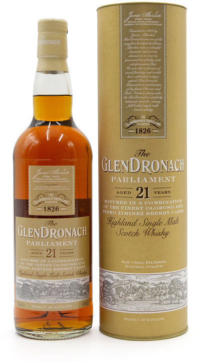 Glendronach 21 years old, Parliament