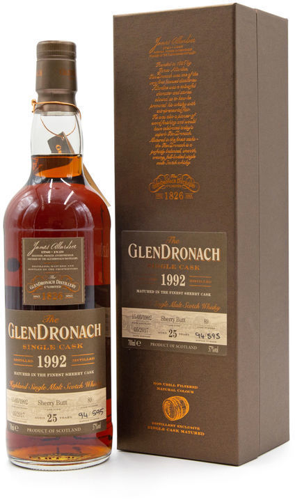 Glendronach 25 years old, Batch 15 (Cask 89)