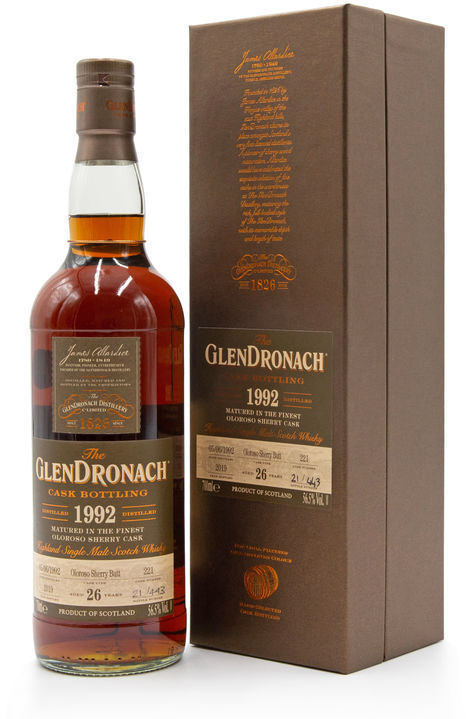 Glendronach 26 years old, Batch 17 (Cask 221)
