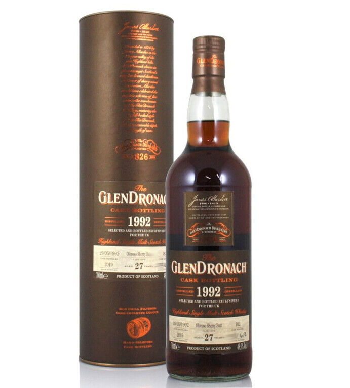 Glendronach 1992, 27 years old (Cask 182)