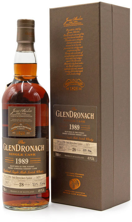 Glendronach 28 years old, Batch 16 (Cask 5476)