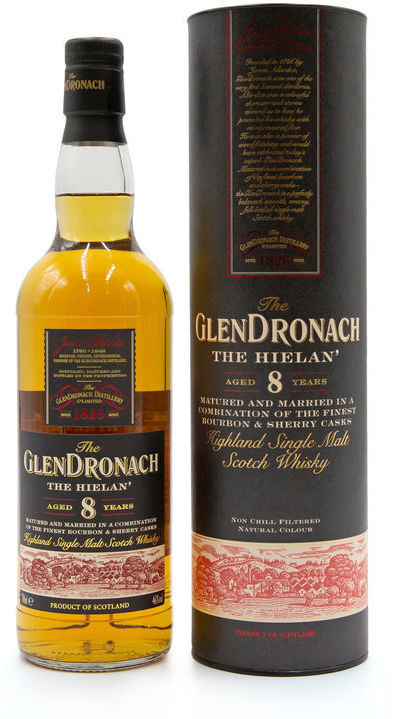 Glendronach 8 years old, The Hielan'