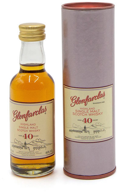 Glenfarclas 40 years old miniature