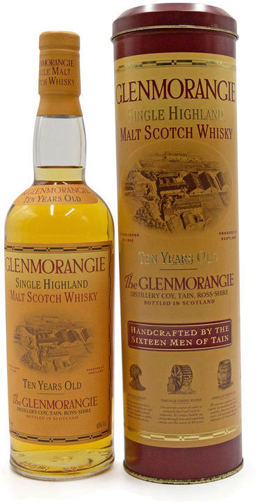 Glenmorangie 10 years old (Tin Presentation)