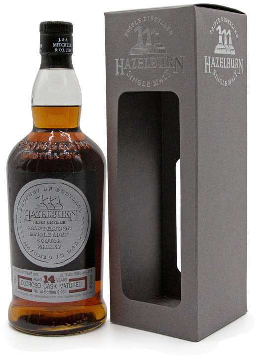 Hazelburn 14 years old