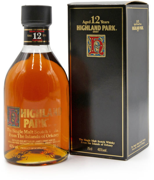 Highland Park 12 years old (1980's)