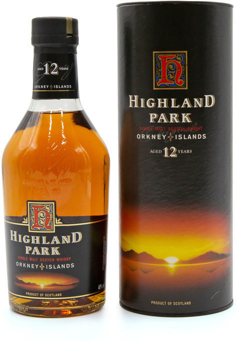 Highland Park 12 years old (1990's)
