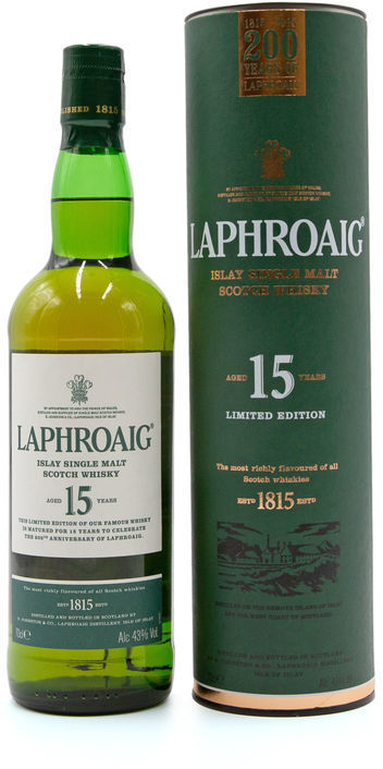 Laphroaig 15 years old, 200th Anniversary