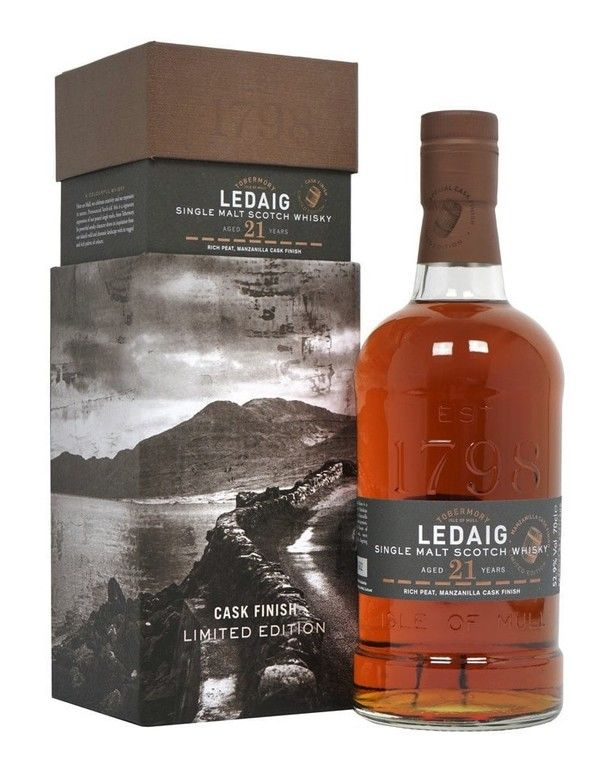 Ledaig 21 years old 1997 Manzanilla Finish