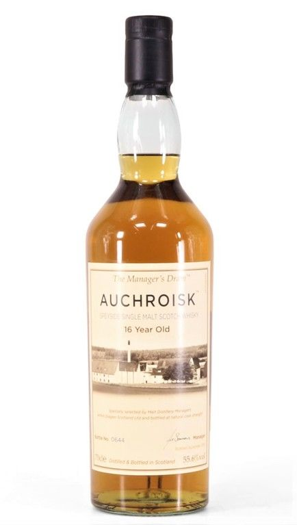 Auchroisk 16 year, old Manager's Dram